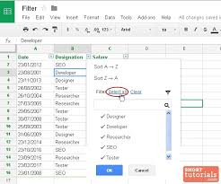 google sheets filter multiple columns download