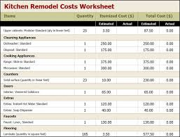home renovation project plan template excel download