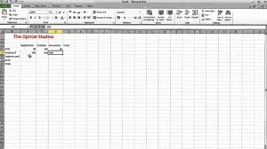 how to create a spreadsheet in excel 2013 download