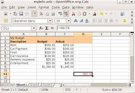 how to create an excel budget spreadsheet download