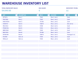 how to make inventory report download