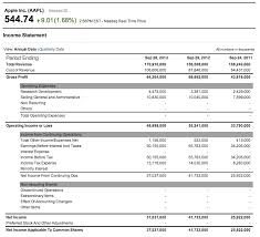 income statement template for service company download