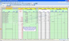 ledger account format in excel free download download