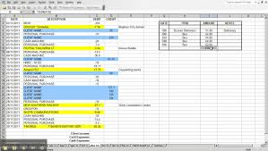 monthly budget spreadsheet download