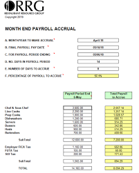 payroll accrual days download