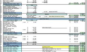 real estate financial model xls download