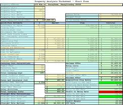 real estate spreadsheet templates download