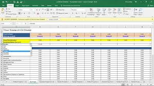 rent collection spreadsheet template download