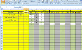 running inventory excel template download