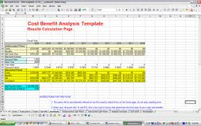 simple cost benefit analysis worksheet download