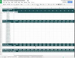 template for cash flow projections download