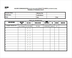 training spreadsheet template download