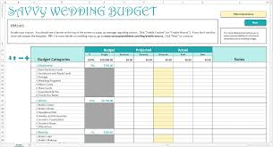 wedding budget planner download