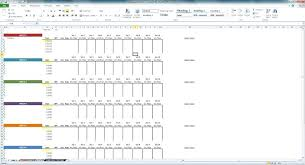 excel strength training template download