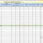 free residential construction estimating spreadsheets download