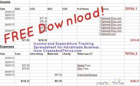 income and expenditure template excel free download