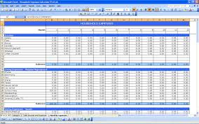 income and expense worksheet pdf download