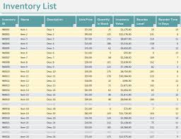 inventory spreadsheet template - excel product tracking download