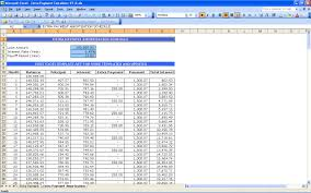 loan amortization schedule excel with variable interest rate download