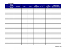 monthly expense report template excel download