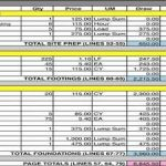residential construction schedule template excel download