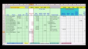 salon spreadsheet template download
