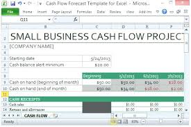simple cash flow template download