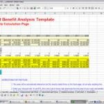 simple cost benefit analysis example download