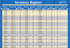 inventory and sales manager excel template download