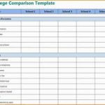 loan comparison worksheet download