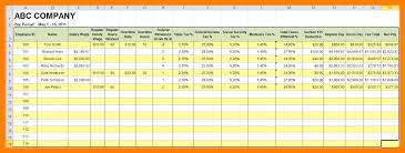 free payroll spreadsheet download