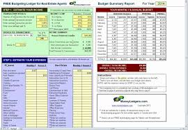 free real estate agent expense tracking spreadsheet download