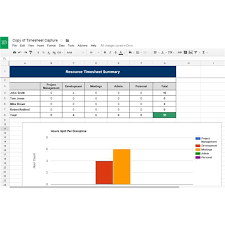 google sheets project timeline download