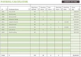 payslip template excel download
