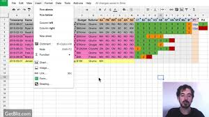project sheet example download