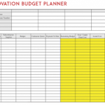 renovation budget planner download