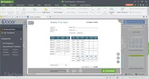 spreadsheet software examples download