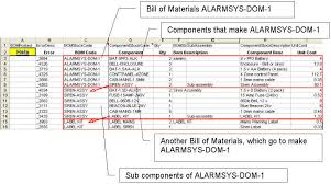 bill of materials template solidworks download