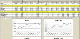bodybuilding excel spreadsheet download