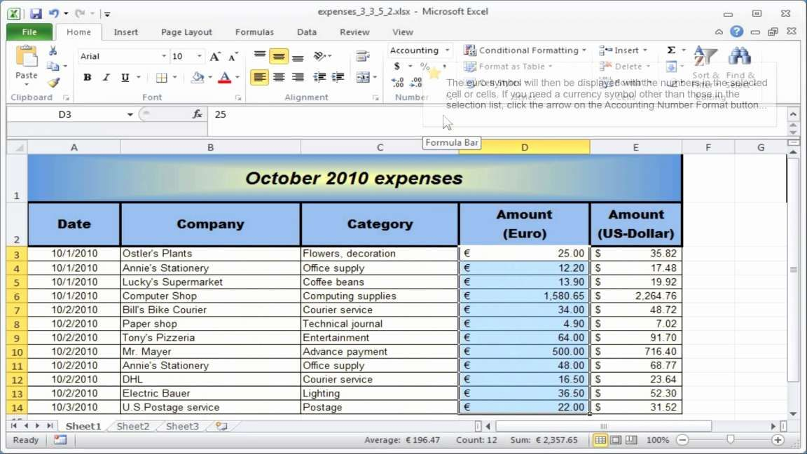 Church Treasurer Report Template Excel Expenses Excel