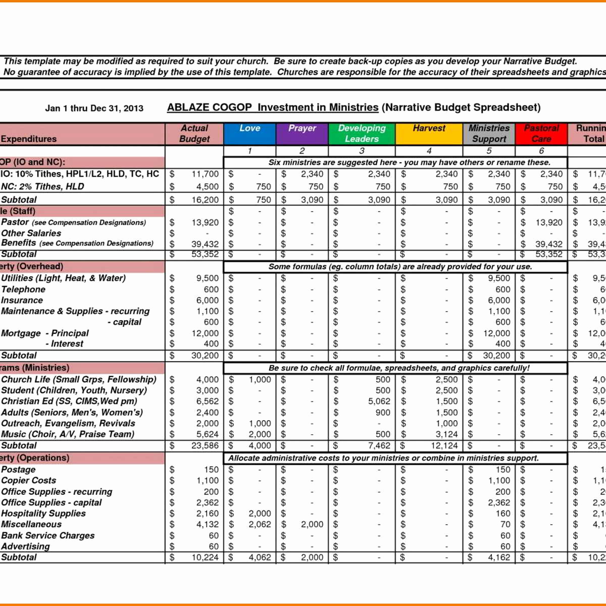 Or Cleaning Business Expenses Spreadsheet